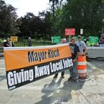 Quincy union members continue to lay siege upon embattled Mayor Koch