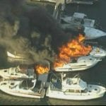 Quincy marina hit with catastrophic boat fires