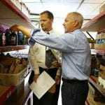 Quincy Mayor Thomas P. Koch misses out on food photo op!?!