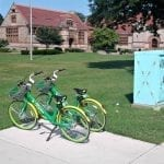 Lime Bikes rides out of Quincy