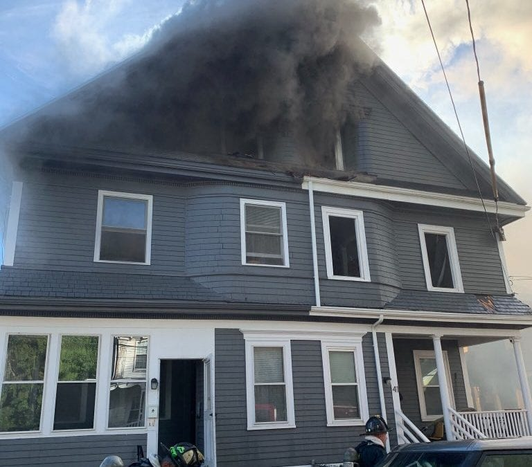 Eight Alarm Fire in Mattapan Multiple Buildings Involved