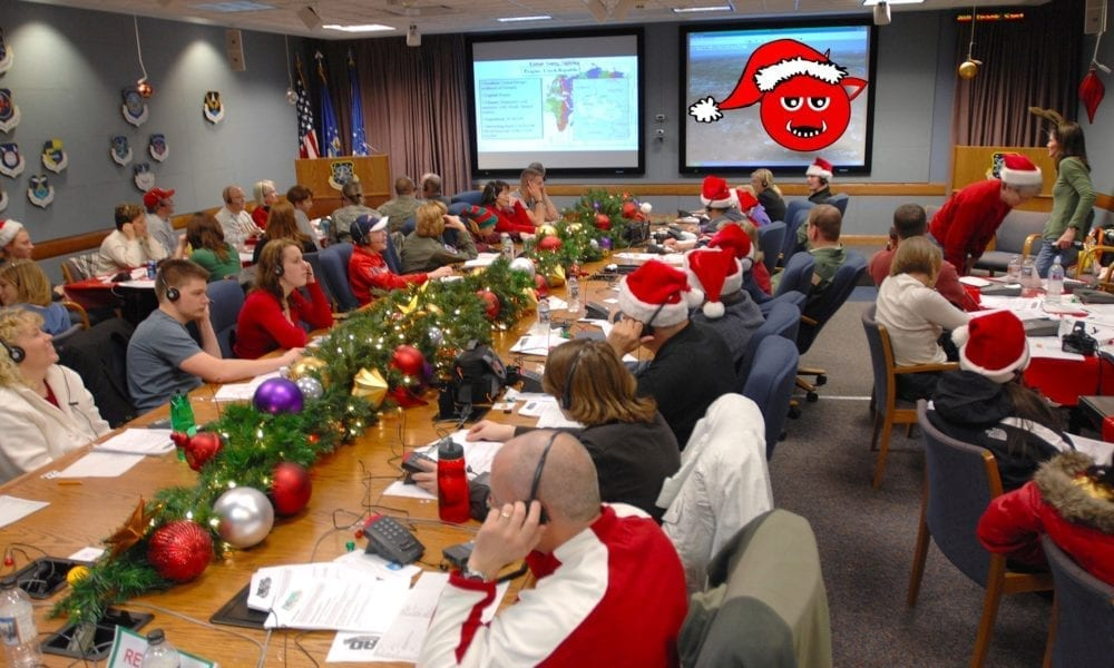 NORAD Tracking Satan for the Holidays due to Typo