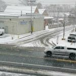 Snow returns to Quincy