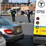 Quincy Center MBTA Station Bus Accident